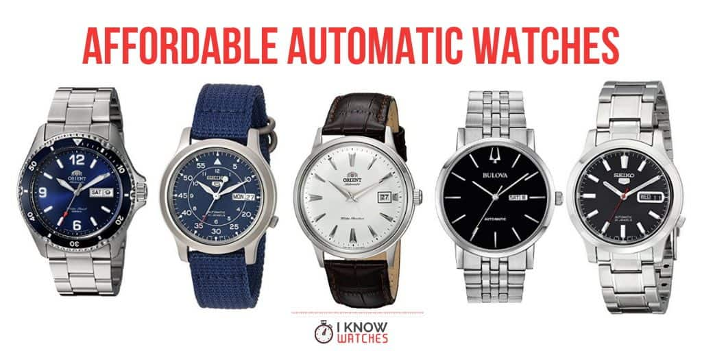 affordable automatic watches