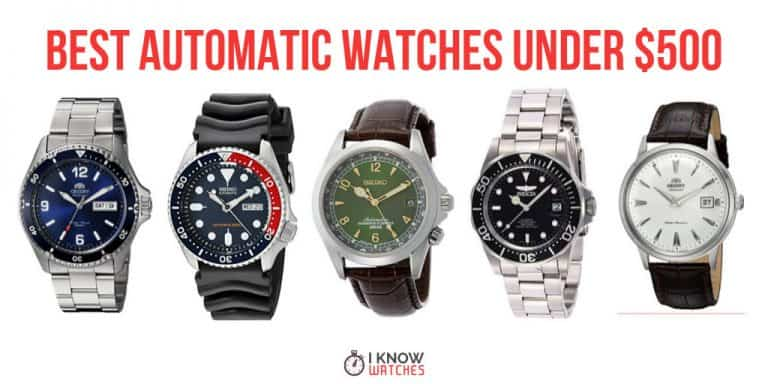 best automatic watches under 500