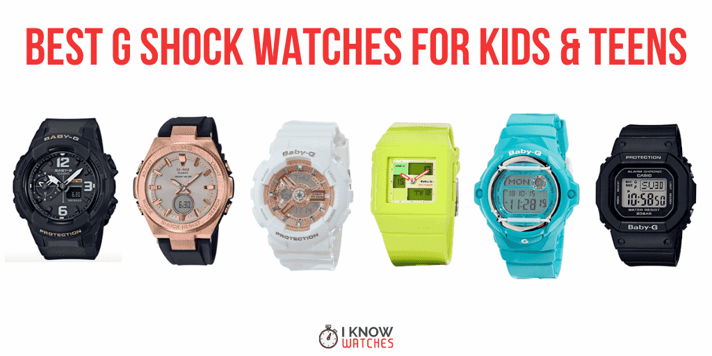 best g-shock for teens and kids