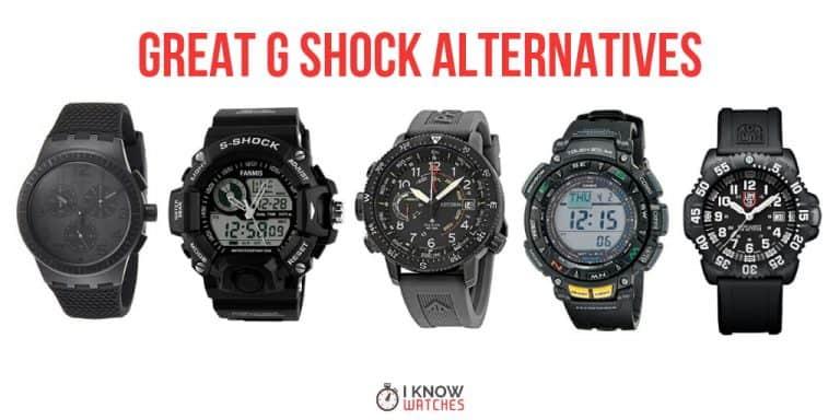 g shock alternatives casio