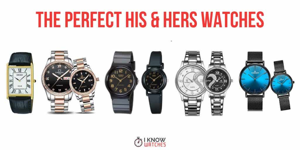 his hers couples watches