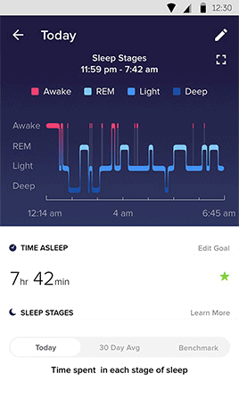 fitbit charge 3 sleep tracking