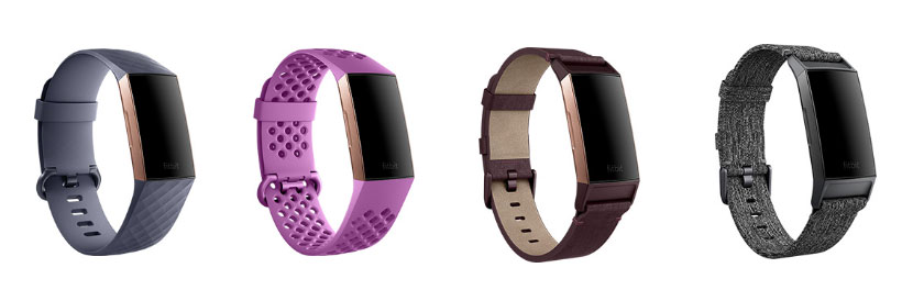 fitbit charge 3 straps