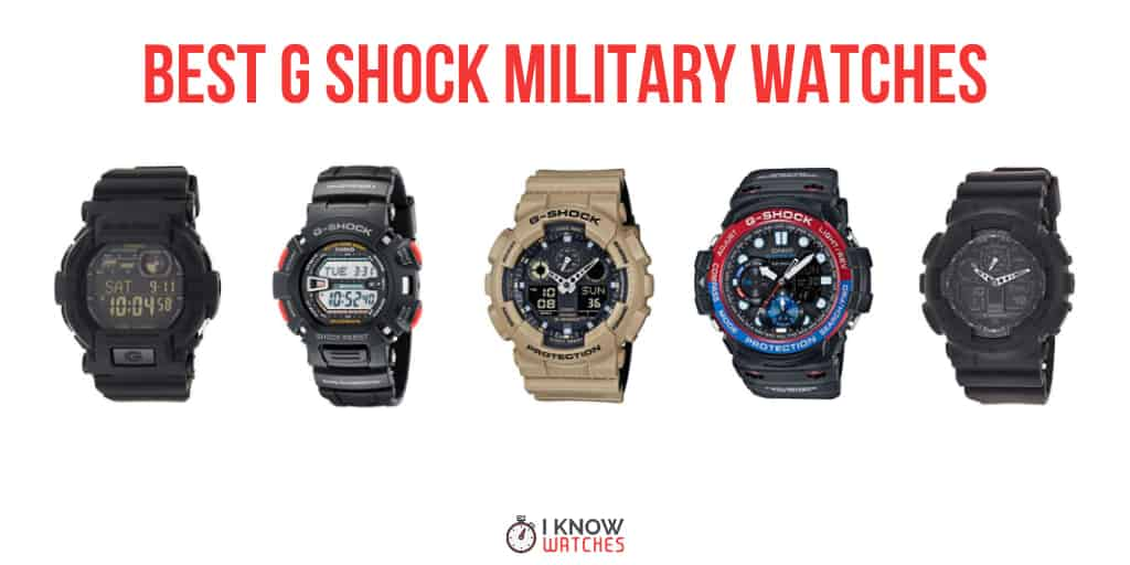 best g shock watches for military