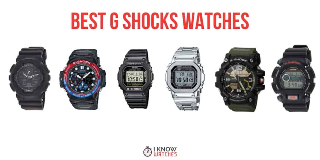 The Best G Shock Watches