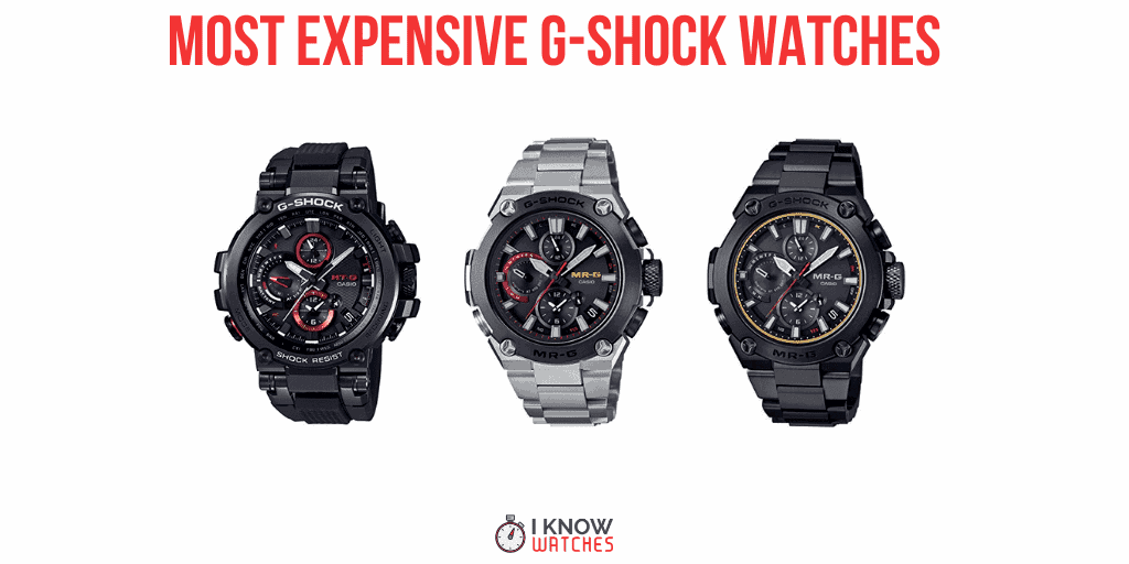 expensive casio g-shock