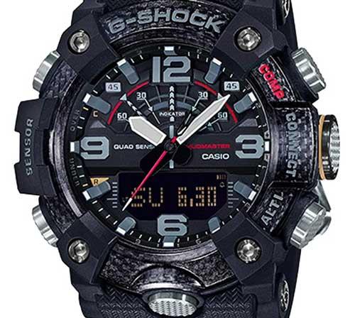 casio g-shock ggb100 mudmaster dial