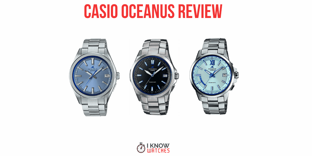casio oceanus review