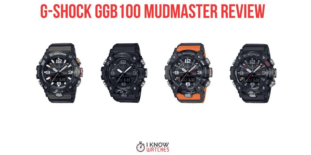 g-shock mudmaster GGB100 review