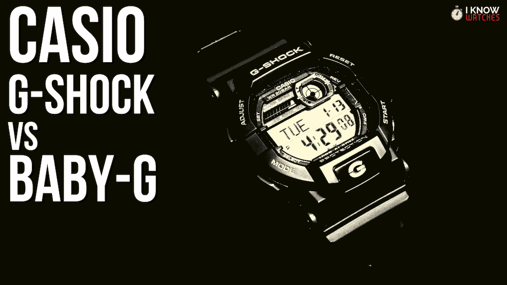 Casio G -Shock vs Baby-G
