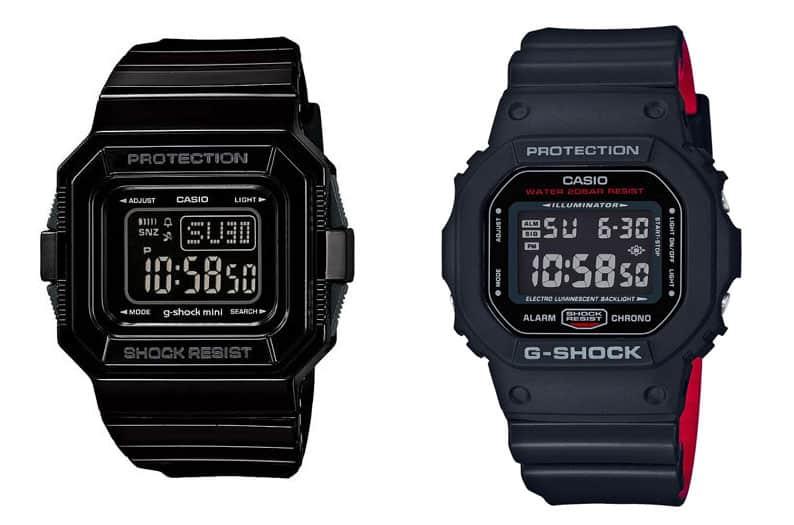 Mini GMN-550 vs G-shock dw-5500
