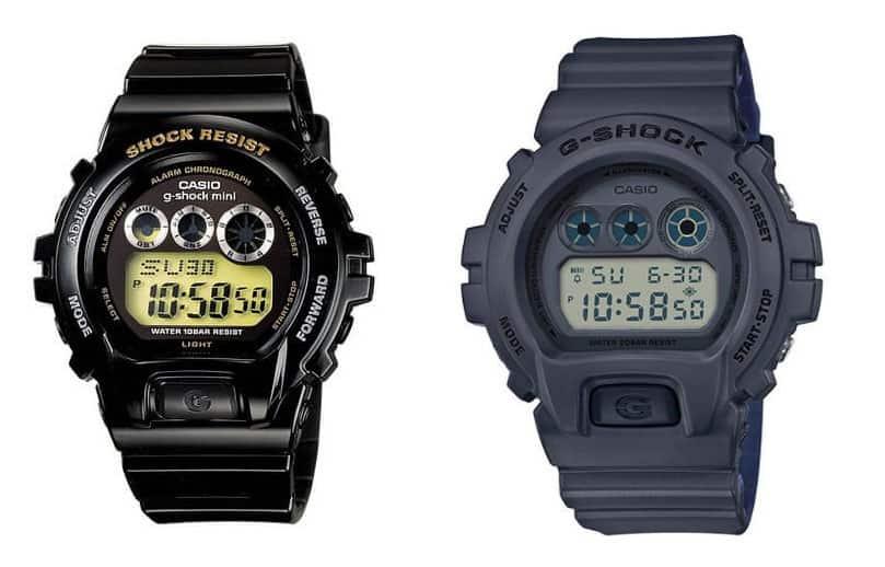 g-shock dw-6900 vs mini GMN-691