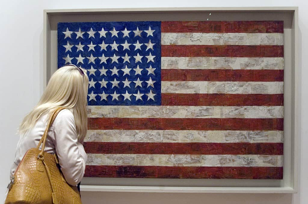 American Flag - Jasper Johns