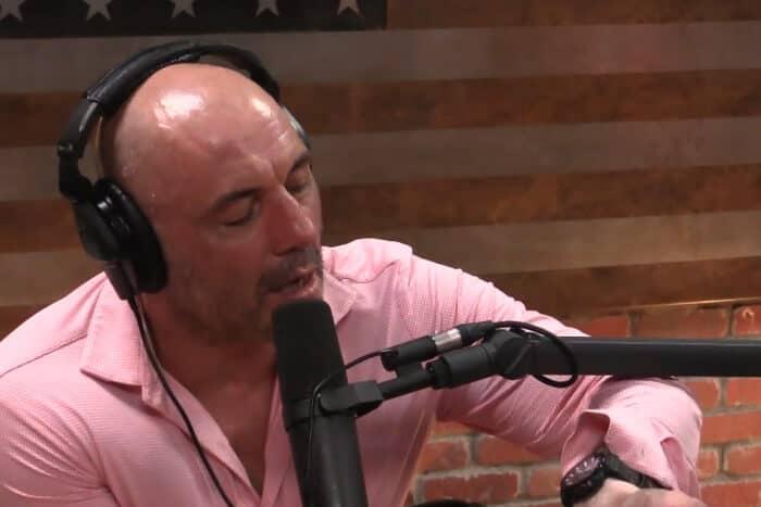 Joe Rogan interviews Elon Musk wearing a Casio Protek