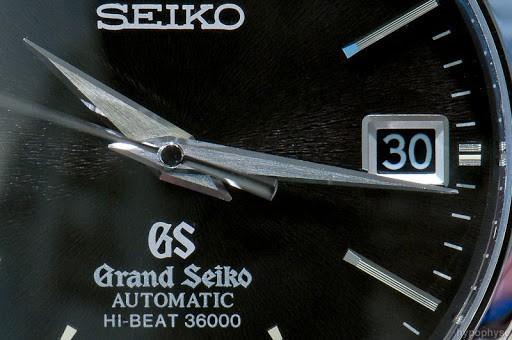 seiko grand high beat watch