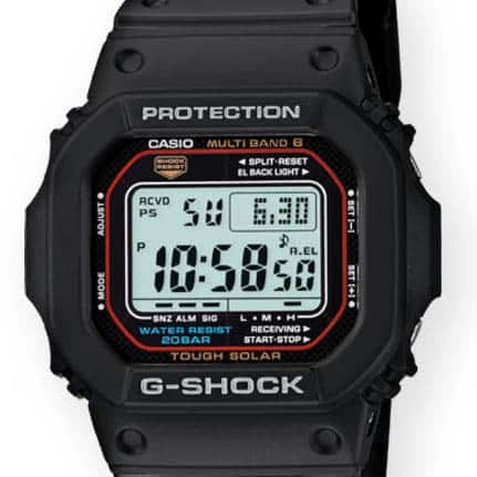 casio g-shock GWM5610-1 dial