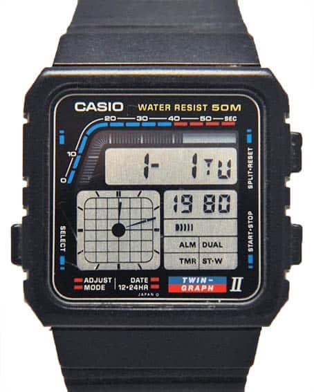 Casio Twin Graph II AE-22W