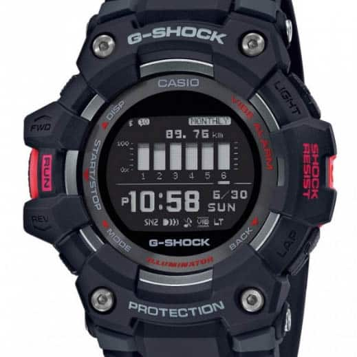 g-shock GBD-100-1 dial and case