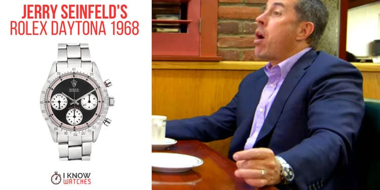 Jerry Seinfeld's 1968 Rolex Daytona