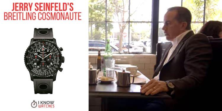 Jerry Seinfeld's Breitling Cosmonaute