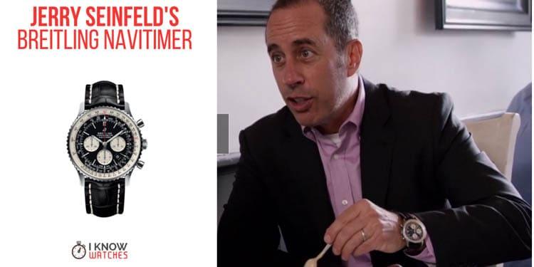 Jerry Seinfeld's Breitling Navitimer