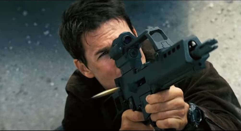 Tom Cruise wearing a Casio G-Shock in Mission Impossible 3