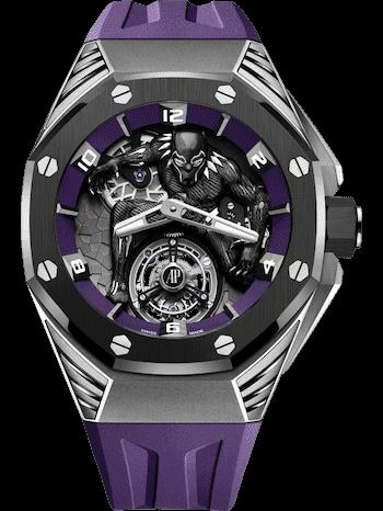 """Audemars Piguet Royal Oak Concept """"Black Panther"""" Flying Tourbillon"""