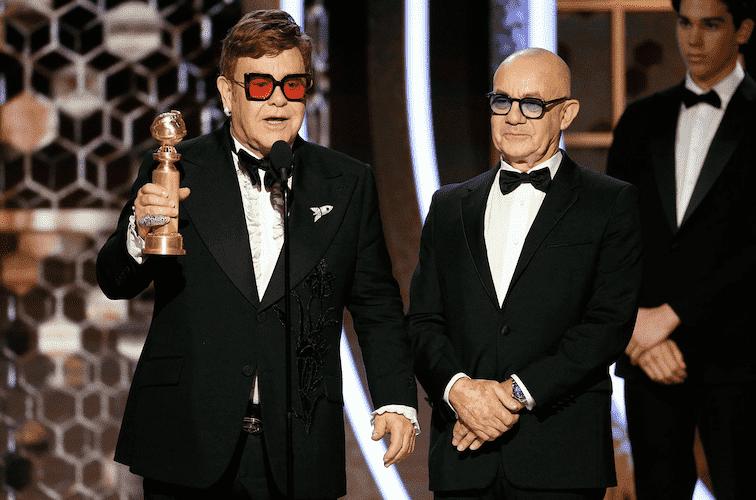Elton John - 77th Annual Golden Globe Awards