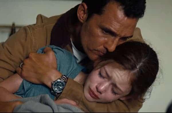 Matthew McConaughey watch Interstellar