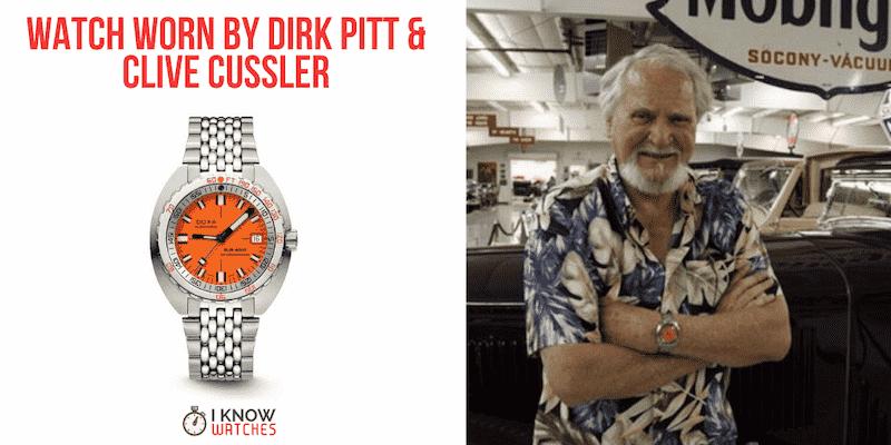 Watch Worn by Dirk Pitt & Clive Cussler
