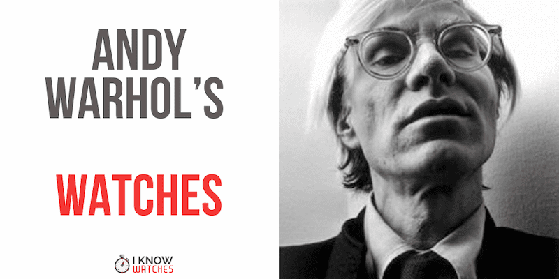 andy warhol watches