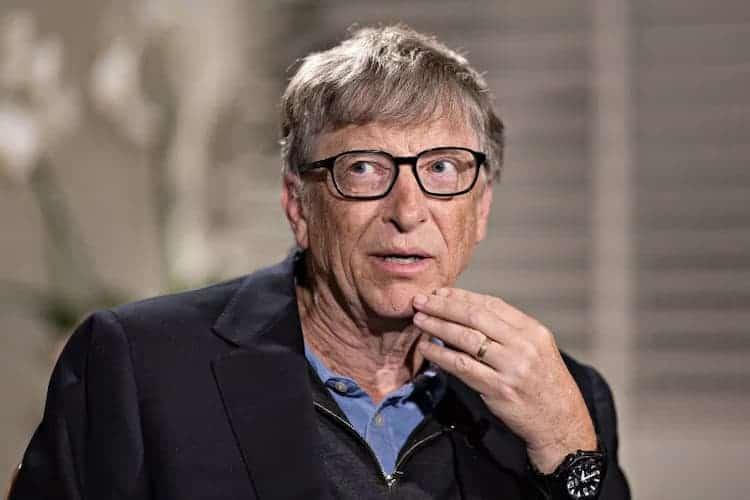 Bill Gates wearing Casio Mrw-200H-1B2vdf