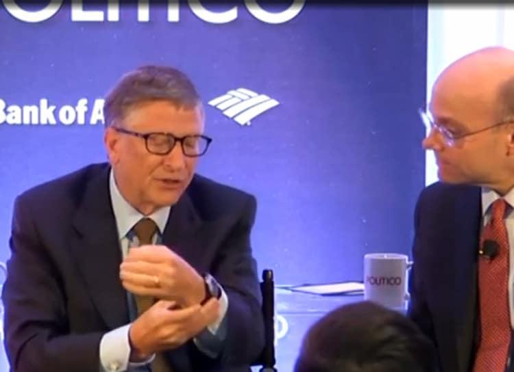 Bill Gates Casio W214H-1A