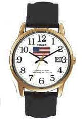 Timex Gold with American Flag