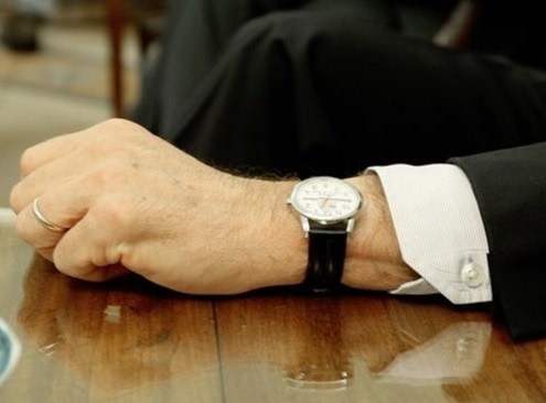 President George Bush Timex watch