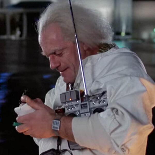 Doc Brown Calculator Watch
