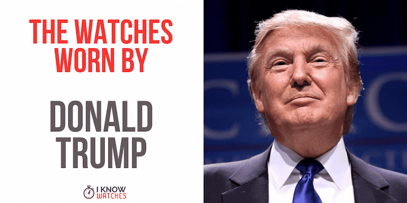 donald trumps watches
