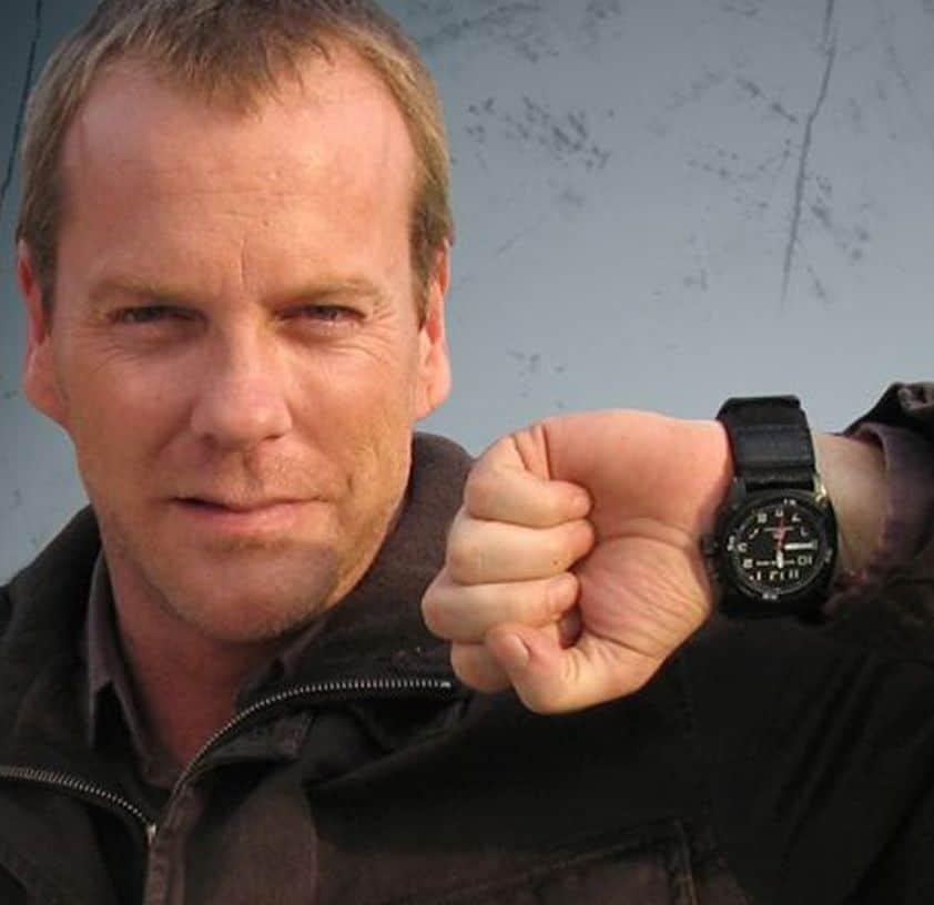 jack Bauer 24 TV Series - MTM Special Ops watch