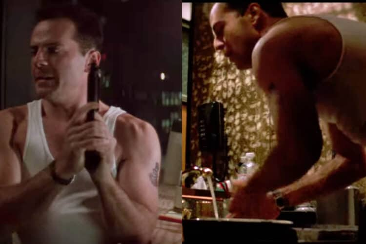 John McClane Tag Heuer Watch Die Hard