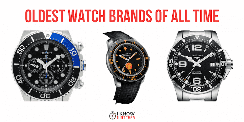 oldest watch brands