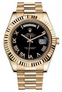 Rolex Day-Day II in Gold and Black