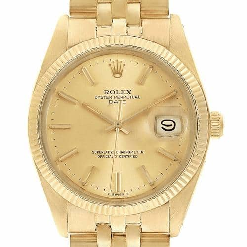 rolex gold date just jubilee narcos