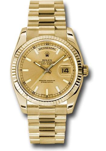 Rolex President Day Date Gold 14k