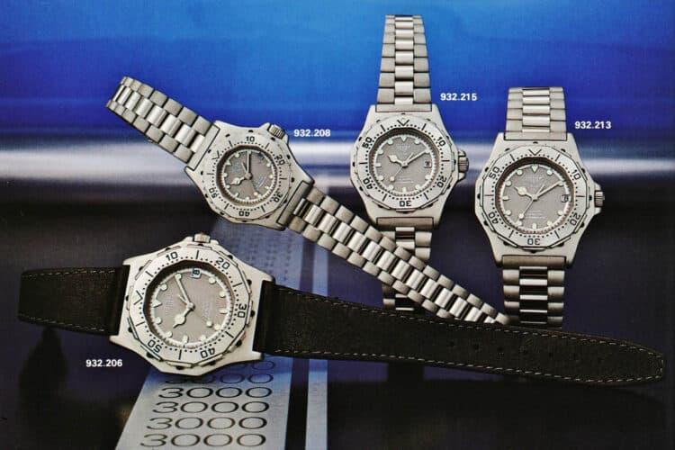 tag heuer 3000 Series Quartz-Chronograph