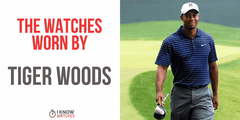 tiger woods watches
