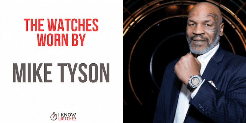 watches worn by mike tyson