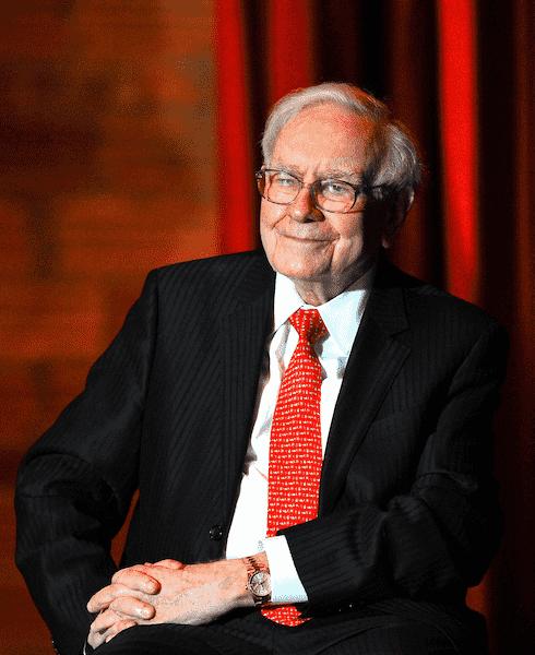 Warren Buffett Wearing Rolex