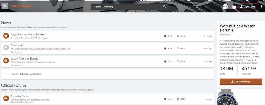 Watchuseek Forums