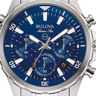 bulova marine star chrono dial