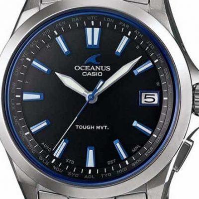 casio oceanus dial